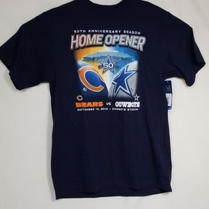 Men's, Cowboys Vs Bears, 50th Anniv. Season shirt.